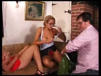 British milfs in the great group scene