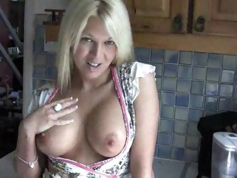 Hot Blonde Jerk Off Instructions