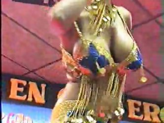 Arab sexy belly dance getting naked