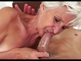 Old Horny Woman and Lover