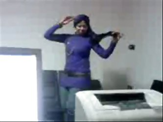 beautiful Arab wife wearing Hijabi is dancing like professional whore. She is hot tempered Arab wife who can turn all your dirty dreams into reality.