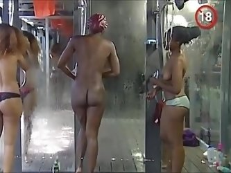 SekushiLover - Big Brother Africa Shower Hour