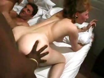 Milf fool around and then an orgy begins