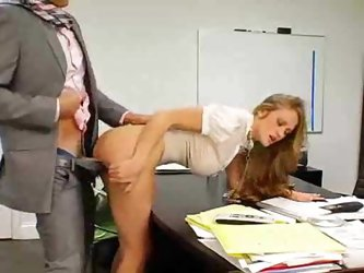 Milf is fucking at work