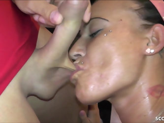 TEEN STREET HOOKER GET FUCKED AO AND GET CREAMPIE IN BERLIN