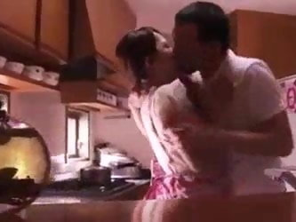 Japanese wife sex with her x-boyfriend and cheat her husband