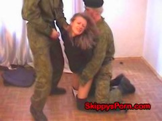 Teen With Bad Russian Soldiers