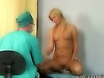Too fetish medical examination