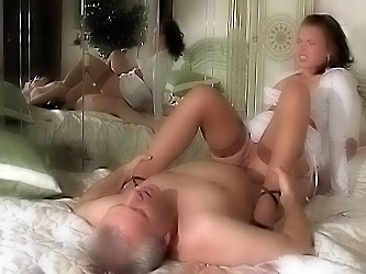 Alana&Caspar oldman sex movie