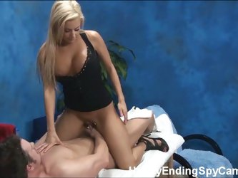Mariah's happy ending massage