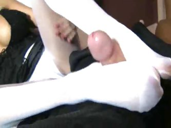 Step Mommys Foot Cock Control