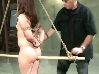 Amateur girl punished hard