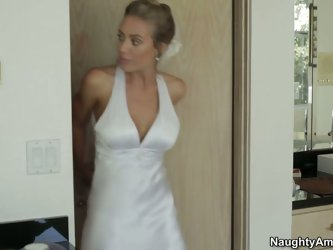 "Nicole Aniston is an outrageous whore who has passionate quickie with Best man right after saying the big ""Yes"" to her fiance at the a"