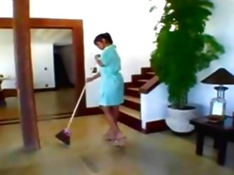 Brazilian Girl- Amazing Maid Wit...