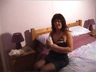 Horny Housewife Gets Caught Deepthroating A Cock