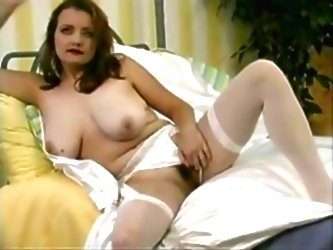 Busty Bride Gets Undressed And F...