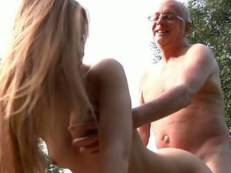Teasing grandpa with her perky tiny pussy young Alexis Crystal will get what she needs: oldyoung fuck. Seeing she's horny for dick oldman replys