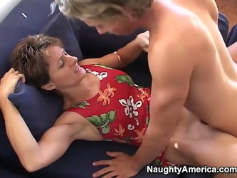 Cori Gates is an experienced slut with a fantastic athletic body who loves to feel her lover's cock pumping her mature pussy.
