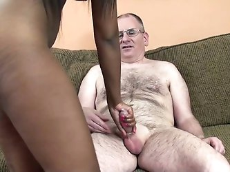 Pretty ebony chick opens her legs wide and lets a white guy eat her vagina. After that they have unforgettable sex in the cowgirl position.