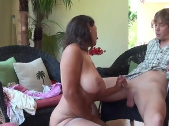Stepmom & Stepson Affair 86 (Mommy's Sex Education)