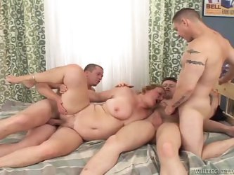 Chubby mature amateurs get fucked hard by younger guys