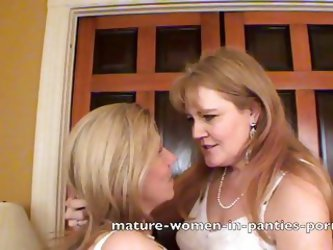 Lesbian Milfs In Old Fashion Underwear Part 3