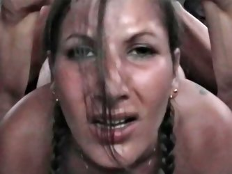 Rough sex for a sexy amateur who gets off on voyeurism
