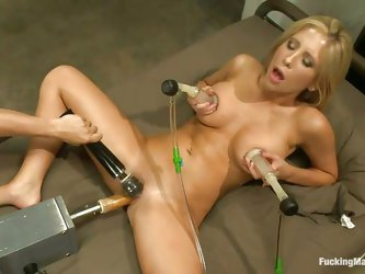 This machine doesn't care how great it would feel to fuck a hottie like Tasha Reign. It was designed to make any woman cum, and it does! Tasha ta