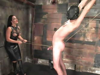 Marioara is a slut from Romania, this bitch has the skills to satisfy every man that desires some domination and pain. Here she is in full action taki