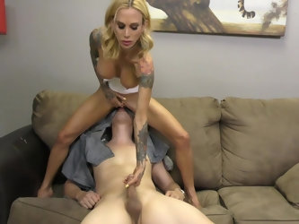 There is nothing better for Sarah Jessie than a piss drinking and a blowjob