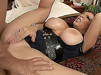 Busty milf having hot fuck