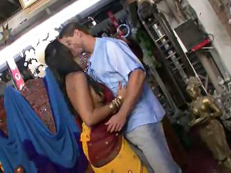Fucking Indian Slut In The Shop!