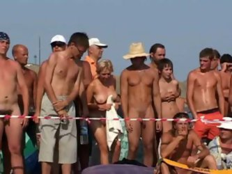 Going to Russia is lots of risk but it is fun as well because these people are freaky. Check out this contest on the Russian nudist beach where girls