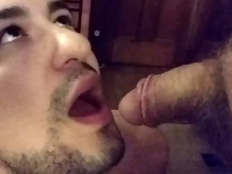 First time piss drinking and cum swallow