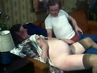 If vintage porn is what turns you on, then I am kinda sure you will like this video from my classic porn collection. Horny dude wants to show his preg